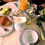 Le petit dejeuner a Carette
